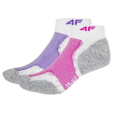 Dámské sportovní ponožky Violet - 2pack