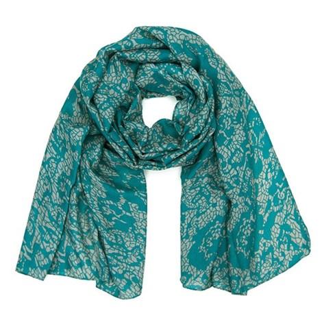 Elegantní šátek Layse zelený