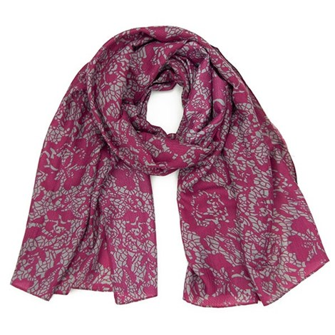 Elegantní šátek Layse růžový