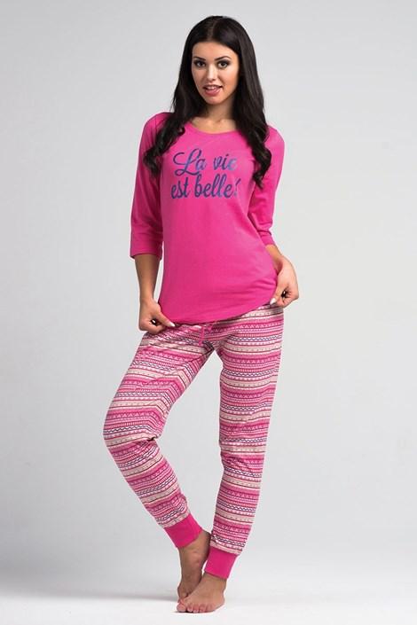 Dámské pyžamo La Vie pink