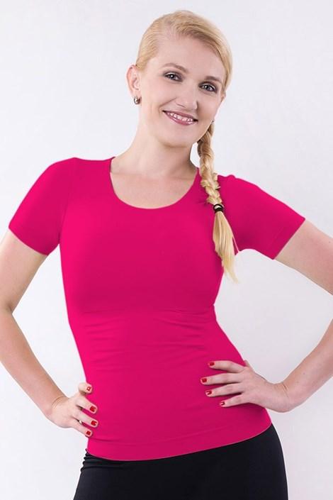 Утягивающая футболка с коротким рукавом
