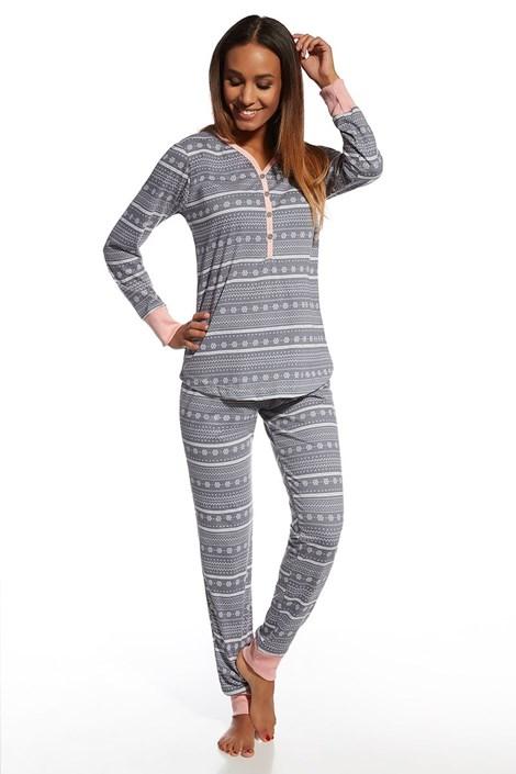 Dámské bavlněné pyžamo Stars