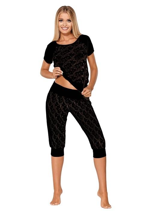 Svůdné pyžamo Thlema Black