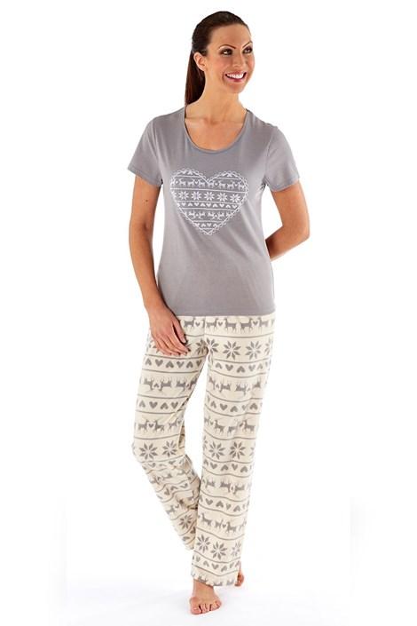 Dámské pyžamo Hearty Winter