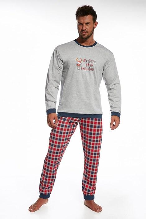 Pánské bavlněné pyžamo Winter