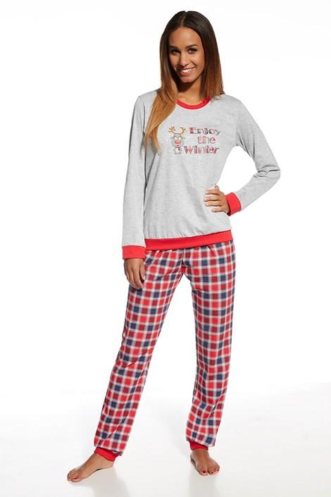 Dámske bavlnené pyžamo Winter