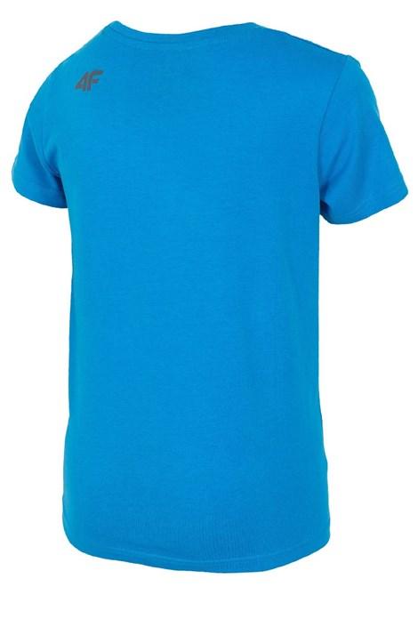 Dětské bavlněné tričko Blue 4f