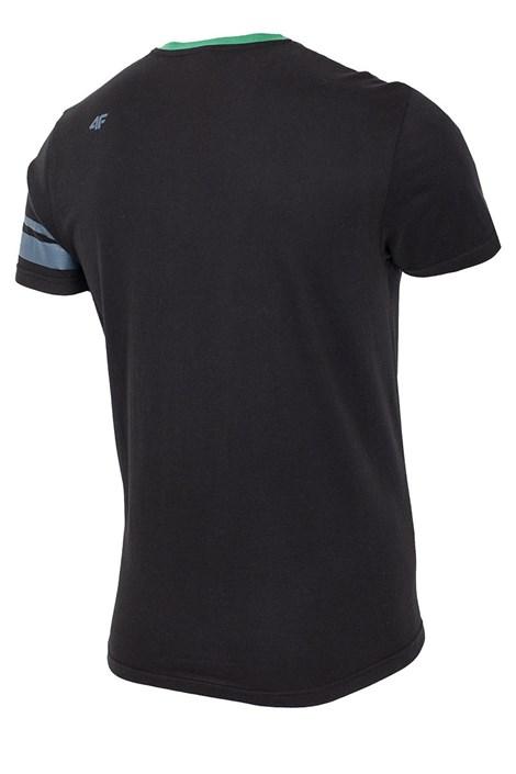 Pánské bavlněné triko 76 Black