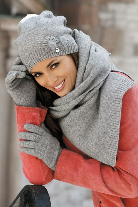 Женский шарфик Abella Grey