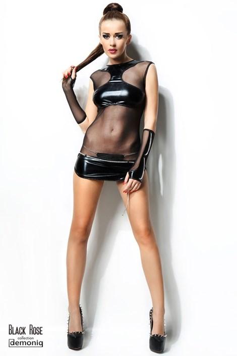 Šaty + kalhotky s řetízky Anette