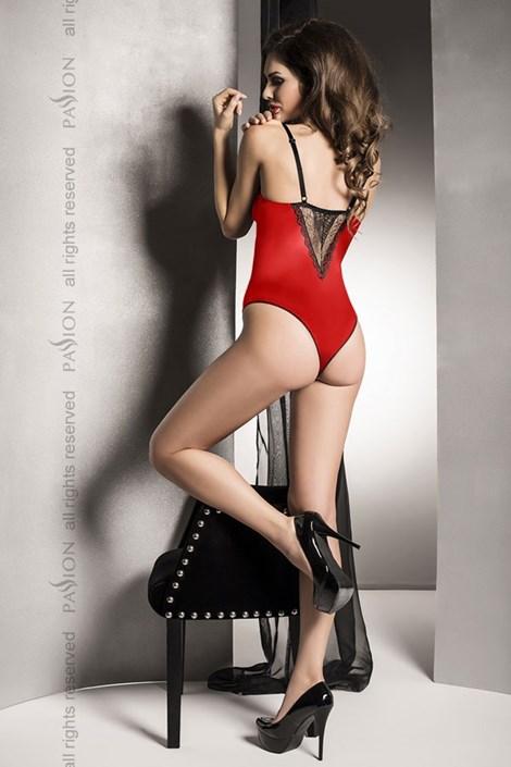 Luxusní erotické body Evane Red