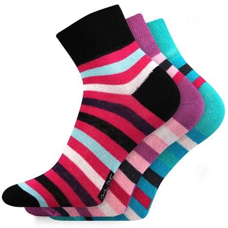 3 pack ponožek Mix38