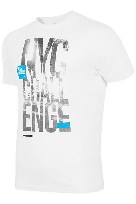 Pánske značkové tričko 4F TSM020 White