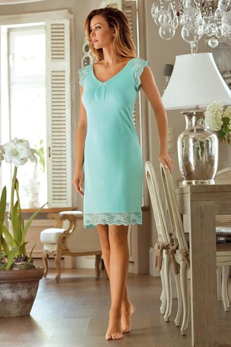 Elegantní košilka Naomi Mint