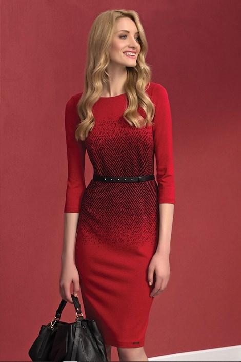 Elegantní dámské šaty Nubira Red