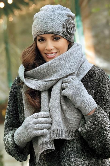 Dámské rukavice Pepita Grey