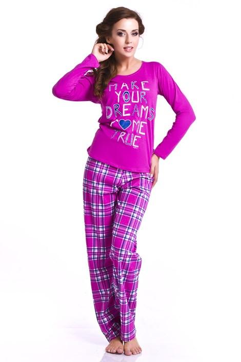 Dámské pyžamo Orchid - tmavě růžové