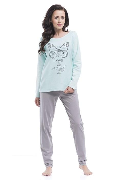 Dámské pyžamo Butterfly Agua