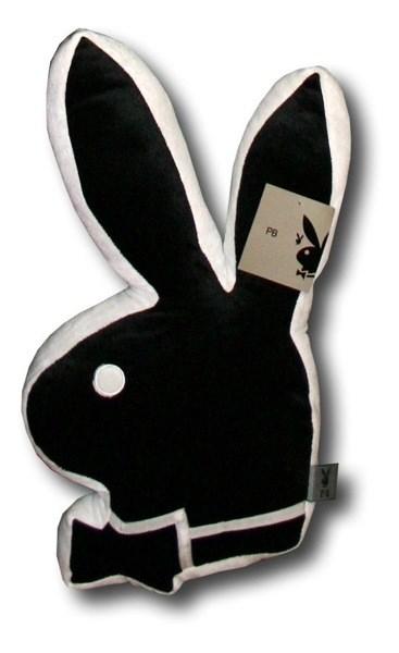 Polštářek Bunny1 Black