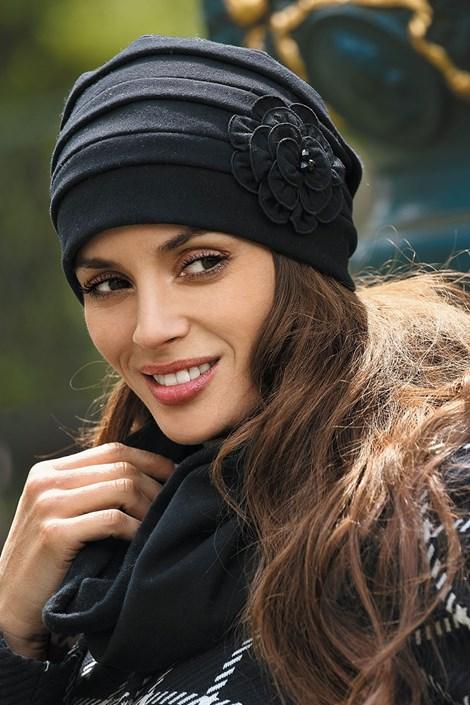 Dámská čepice Priscila Black