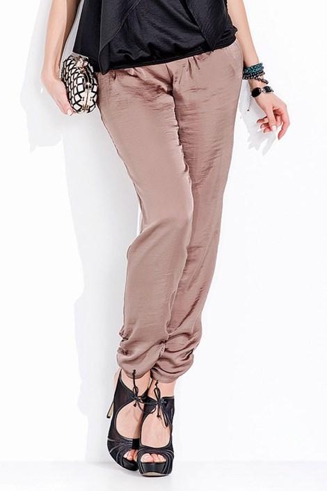 Luxusné saténové nohavice Prissy 003