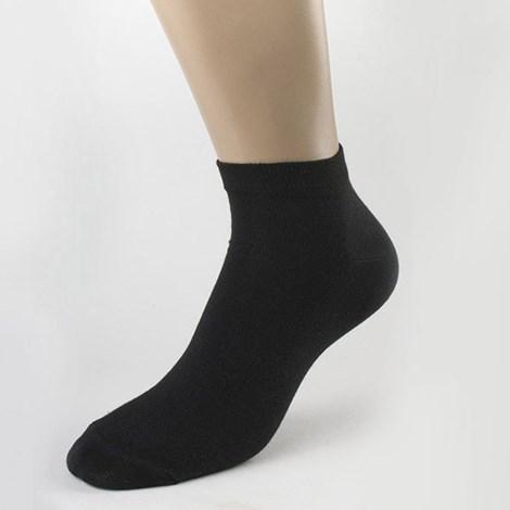 Pánské krátké ponožky bambusové černé