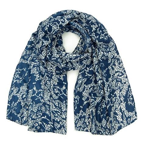 Elegantní šátek Layse modrý