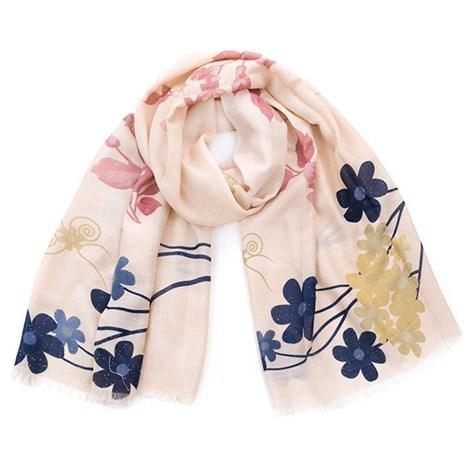 Романтический шарфик Flowers