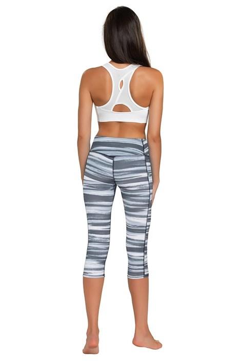 Спортивные леггинсы-капри Zebra
