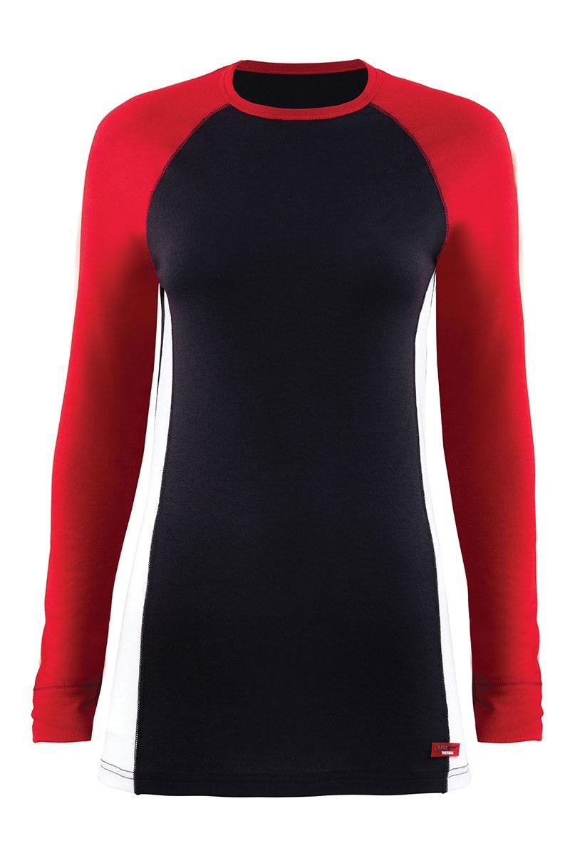 Univerzální funkční triko Black s dlouhým rukávem