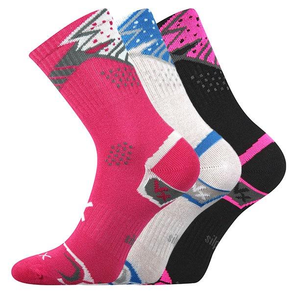 Sportovní ponožky Alka Mix 3pack