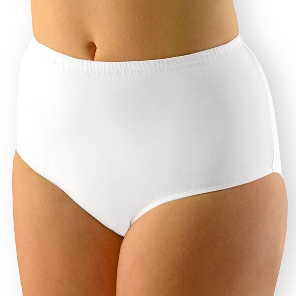 Dámské kalhotky klasické vyšší XXL bavlněné