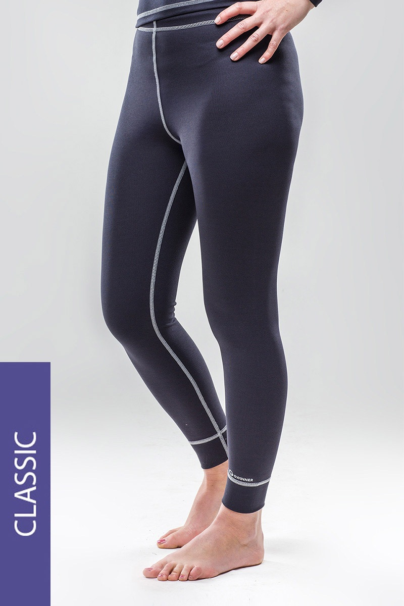 Termo kalhoty Classic - šedé