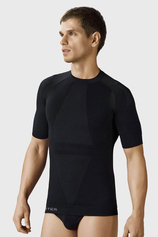 Antibakteriální bezešvé pánské triko - stříbrné vlákno