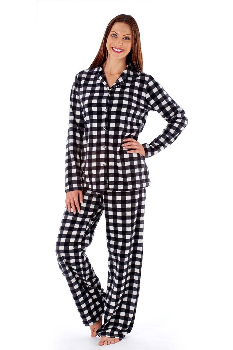 Dámské hřejivé pyžamo Jodie Black