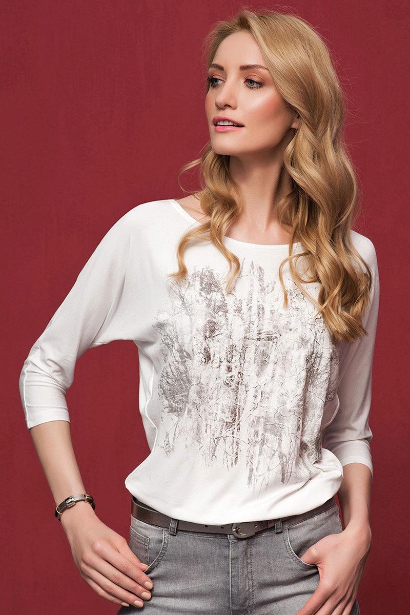 Dámské elegantní triko Kera White