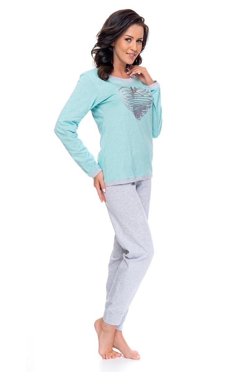 Dámské pyžamo Minty heart
