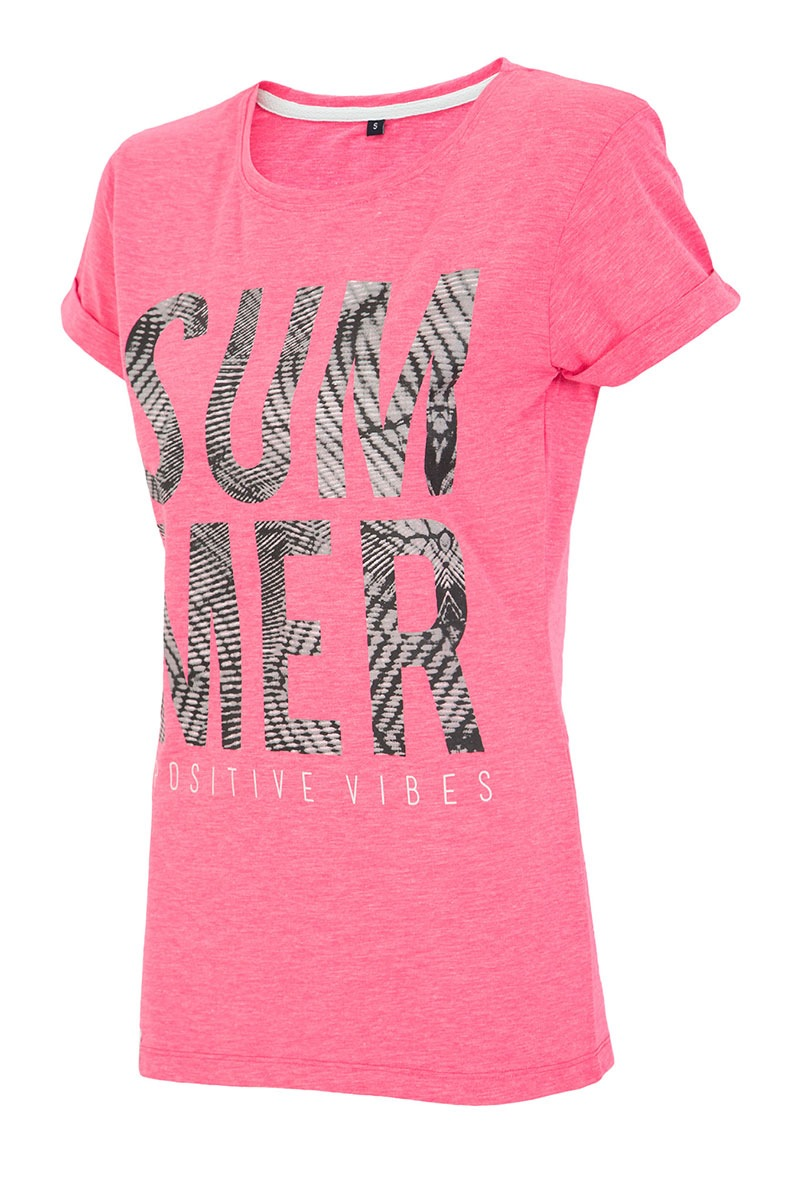 Dámské sportovní tričko Summer Pink