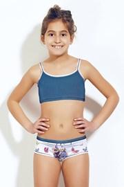Dívčí komplet top a kalhotky 377