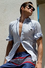 Pánská lněná košile z italské kolekce David