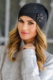 Женская шапочка Alicja Grafit