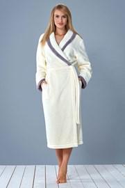 Женский халат Ama Ecru