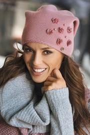 Женская шапка Clarisa Pink