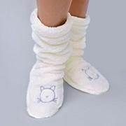 Hřejivé ponožky Duffy Ecru