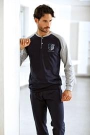 Pánský bavlněný komplet Marcello - triko, kalhoty