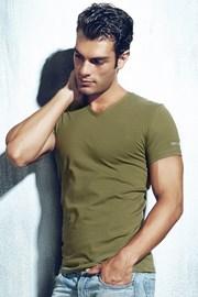 Мужская футболка ET1501 Salvia с V-образным вырезом
