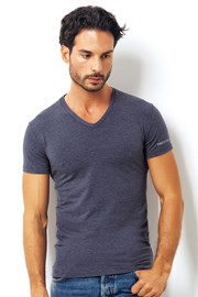 Tricou barbatesc Enrico Coveri 1505 Blue