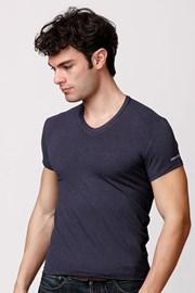 Pánské italské tričko Enrico Coveri ET1505 Blumel bavlněné