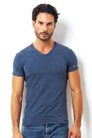Pánske talianske tričko Enrico Coveri 1505 Oceano