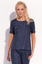 Женская роскошная льняная блуза Gracja